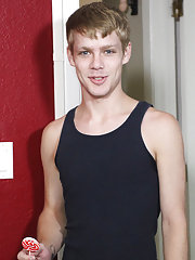 His stylish golden-haired cousin Anthony Evans definitely can't when he stops by and discover Krys making out with his sexy boyfriend Robbie Anth