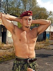 He soon finds his mouth stuffed with George and Eric's throbbing dicks gay military nude men gallery