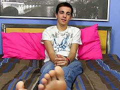 Speaking of stamina, check out Conner's hot wank at the end of his interview redhead gay twinks at Boy Crush!