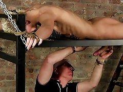 Extreme male bondage and male bondage...