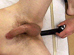 Everything appears to be to normal but as I suspected, my patient started to receive an erection as his rod was going from soft to semi-erect