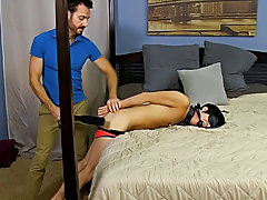 After fucking the cum out of Kyler, he gives him a facial previous to tucking him back into his closet for later gay hardcore penetration at Bang Me S
