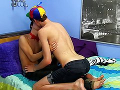 Best twink blow job and granny lick twink ass at Boy Crush!