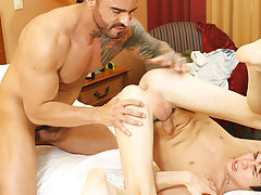Worlds biggest bareback anal gangbang and very old men fucking at I'm Your Boy Toy