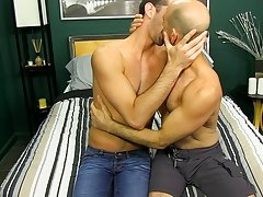 Married guys Adam Russo and Jake Steel are into swinging with their wives on vacation hardcore kinky gay sex at My Husband Is Gay