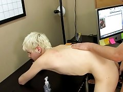 After some greedy oral, Alex bonks Timo all over his office free gay porn video twink at My Gay Boss