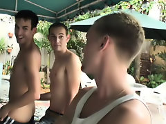 Gay group shower fucking and bicurios male...