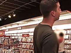 Man blowjob fish and hidden camera massage men