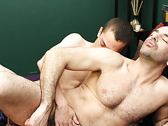 Gay kiss nude in bath room and hairy men...