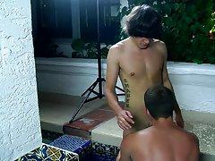 Emo teen boy hairless masturbation and male mutual masturbation technique - Jizz Addiction!