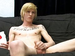 He works his hawt athletic body as that guy jerks off until this chab cums gay jock twinks at Boy Crush!
