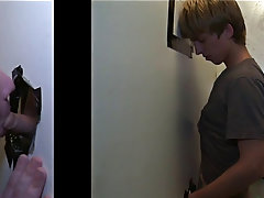 Boy give his first blowjob and best teen gay blowjob porn