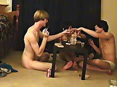""""""" This is a lengthy video for you voyeur types who like the idea of watching those boyz receive naked, drink, talk and play indecent games free m"""