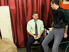 Philandering Jake Steel knows one way to repay his lawyer Preston Steel gay anal hard fucking at My Gay Boss