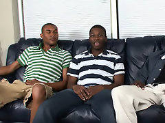 However, he's never had a HUGE COCK, let unequalled TWO black muscles gay interracial