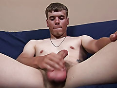 Jack turned around and sat back down, his hand never straying far from his cock male masturbation technique