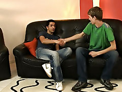 Interracial doctors office gay and long...