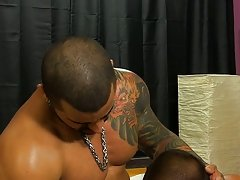 Emo young boy masturbation