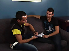 Isaac is planning to visit Mexico, so he enlists Deano to help him learn some Spanish smooth hunk men