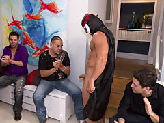 Hot gay group sex and group gay sex xxx fucking at Sausage Party