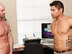 Boss fuck boy and huge bubble butt naked boys at My Gay Boss