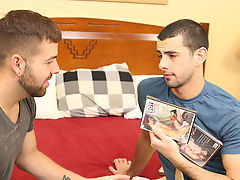 Ever the friendly neighbor, Jake returns the package to Preston and is glad to offer up the real thing free hardcore gay anal sex at My Husband Is Gay