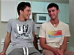 Devin took Tony's cock in his audacity and sucked him amateur teen gay