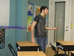 Black bottom twinks and twink spanked for peeing in panties at Teach Twinks
