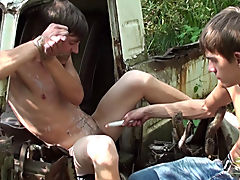 Bound and Waxed Friend free gay fuck suck outdoo