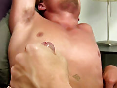 It took a lot to acquire him into the house and on the futon to jerk and wank that ramrod of his