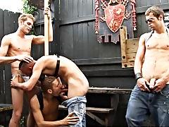 OK, I gotta be dead honest male group sex at Backroomfuckers