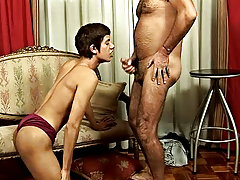 They were going through some routine when the boy started drowsing and reality became blurred gay  old boy sex