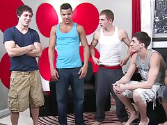 Fully erect twinks and freshman gay...