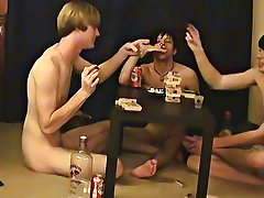 """Trace and William get together with their recent friend Austin for the second installment of """"game night"""