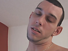 He began to gobble that dick with gusto gay interacial hardcore at Broke College Boys!