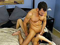 After fucking the cum out of Kyler, he gives him a facial in advance of tucking him back into his closet for later free gay hardcore gallery at Bang M