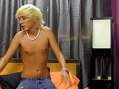 His previous experience with porn wasn't all that great, but you know we'll treat him right enema gay young twink at Boy Crush!