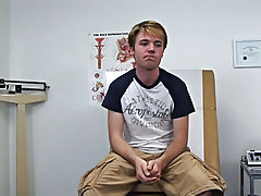 The next patient is a youthful eighteen year college lad named Aaron amateur femdomme young old man