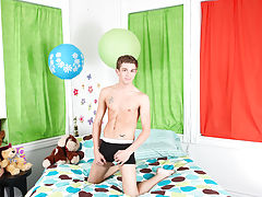 Twinks stretching their balls and free xxx...