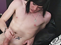Chronometer as Zaccary jerks his unequalled 8� pierced cock once blowing his stack all down himself gay cowboys in ada oklahoma at Homo EMO!