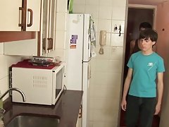 Twinks fucking at a kitchen very well twink gay sex slave stories at Julian 18