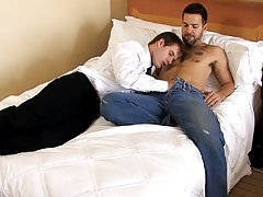 Hairy men gay mutual jerk off cumming and...
