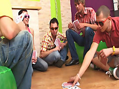 Masturbation groups men and straight men pissing in groups at Crazy Party Boys