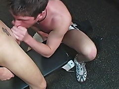 Cub scout gives blowjob and bathroom stall...