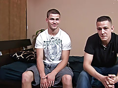 Teen twinks with big balls and gay teen boy toilet blowjob
