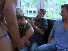 Super gay porn group sex xxx and gay men group sex at Sausage Party
