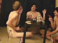 """Trace and William receive jointly with their recent friend Austin for the second installment of """"game night"""