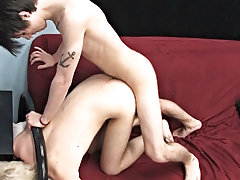 Boyfriends Austin and Dylan get randy in this video boys fucking and sucking EMO