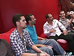 Free gay male twink porn movies and young twink in underwear porn at Sausage Party