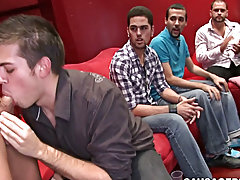 Teen twink candid and twinks belted at Sausage Party